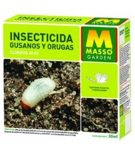 Insecticida gusanos y orugas 50 ml